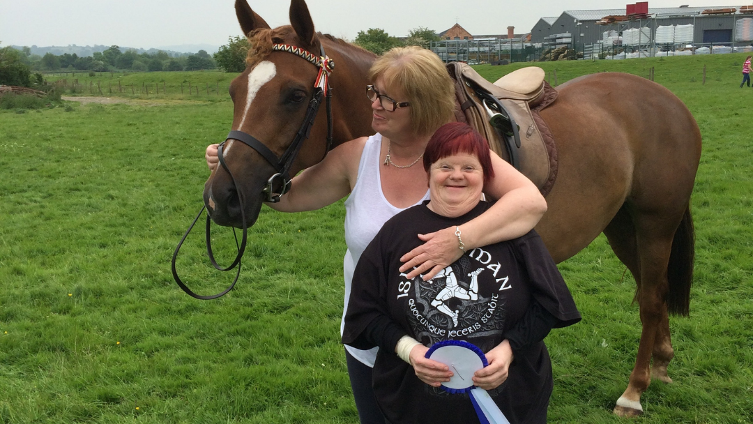 Shared Lives Horse riding
