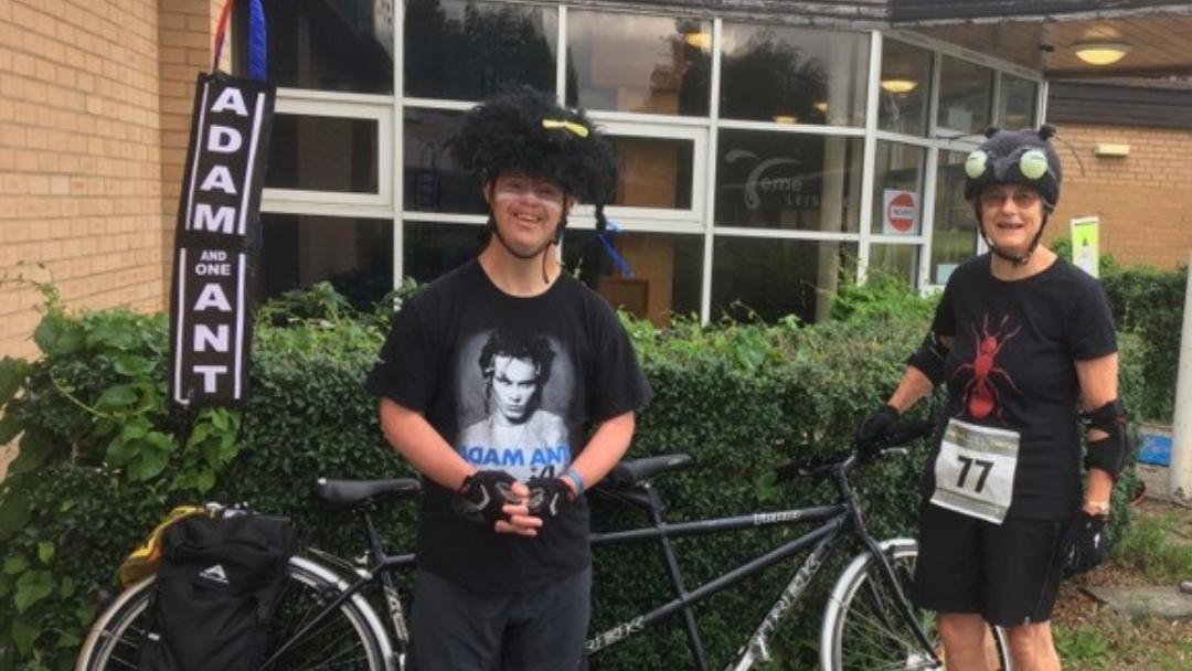 Shared Lives Bike Ride!