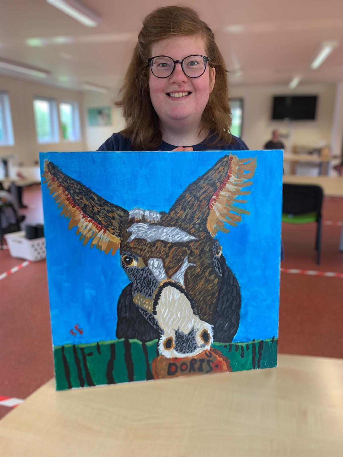Donkey painting LD Week 21